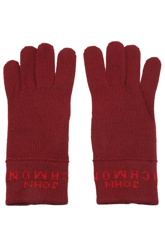 Перчатки женские John Richmond 10 2 Y AG01 C029 красные 7.5