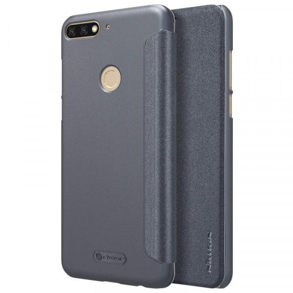 Чехол Nillkin Sparkle Series для Huawei Y7 Prime (2018) / Honor 7C pro Black