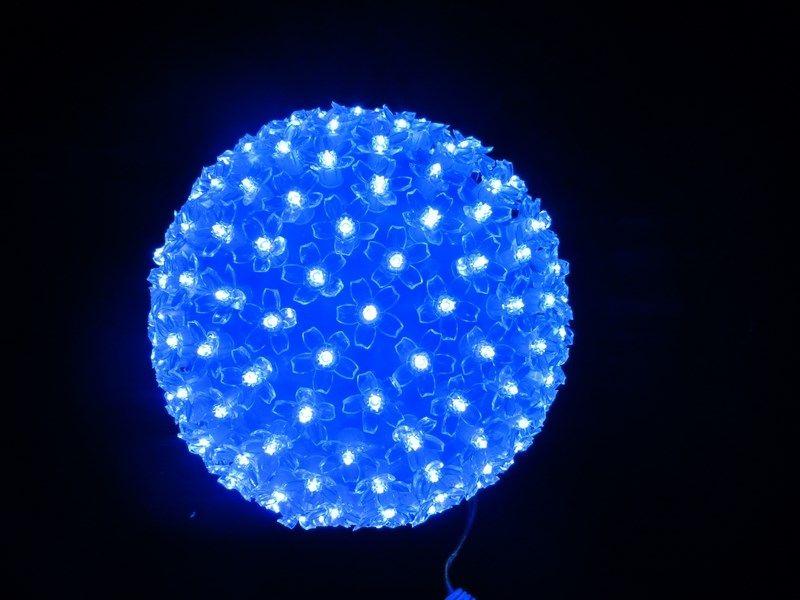 Шар светодиодный 220V, диаметр 20 см,