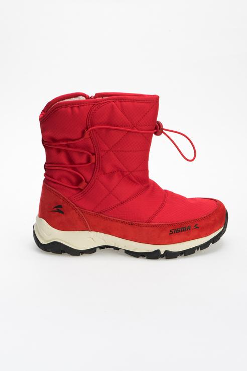 Дутики женские SIGMA M19366 красные 38 RU