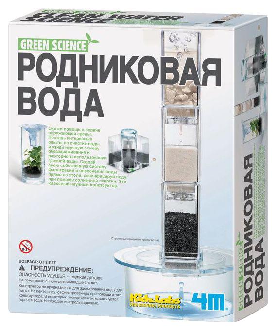 Набор юного инженера эколога 4M Green Science