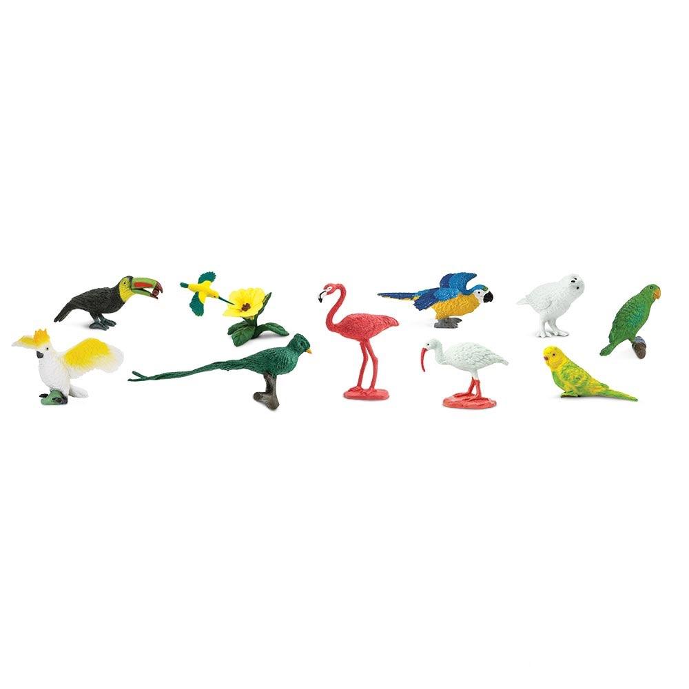 Набор фигурок Safari Ltd Экзотические птицы