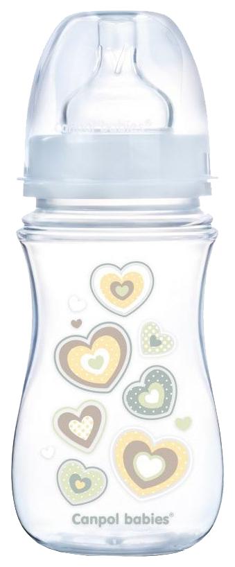 Бутылочка Canpol EasyStart Newborn baby PP 240 мл 3+ белый