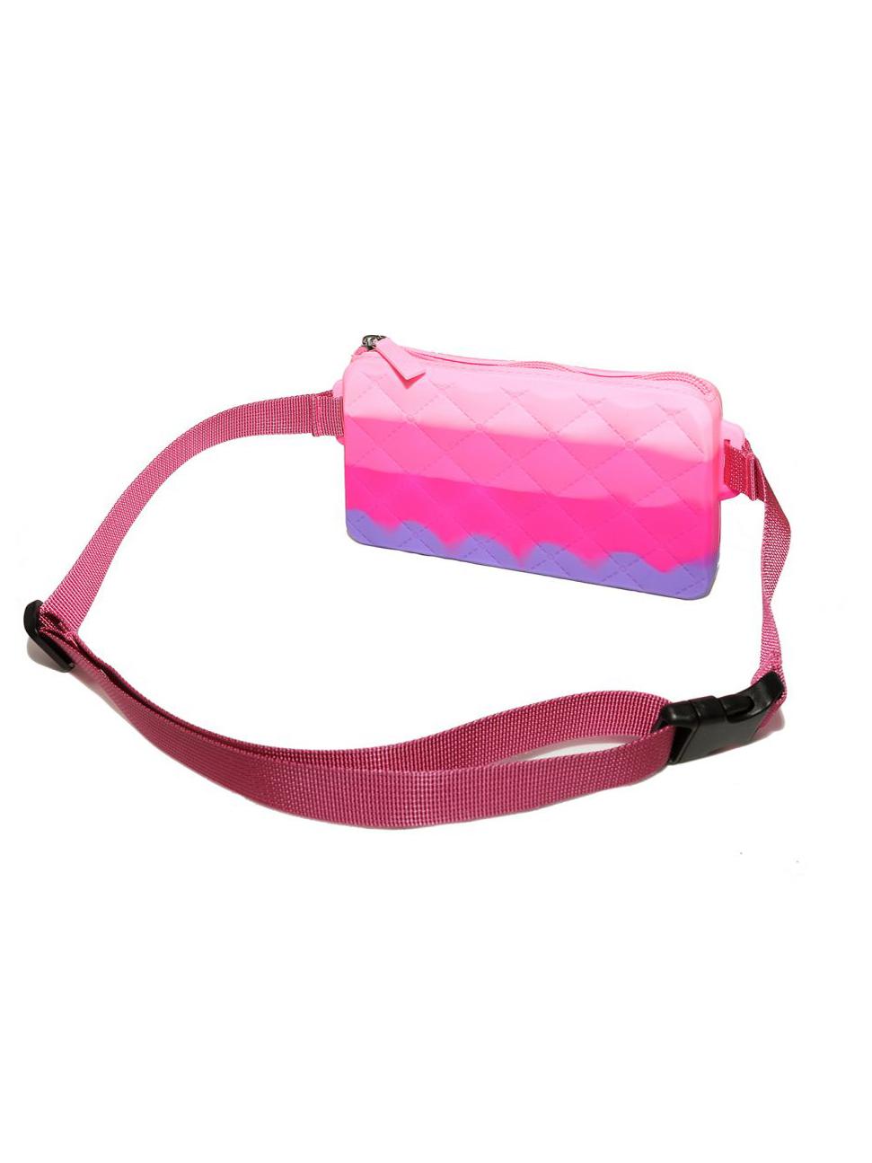 Купить Сумка детская Gummy Bags с ремнем на пояс, цв. Berry,