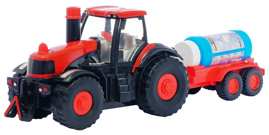 Купить Набор для пускания мыльных пузырей Трактор , световые и звуковые эффекты, 40х13х16 см, Junfa toys,