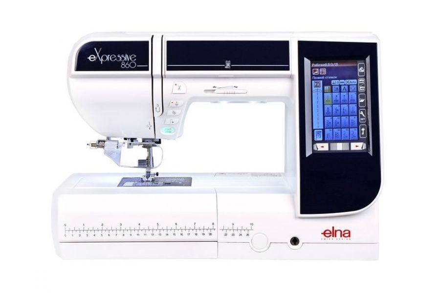 Швейно вышивальная машина ELNA 860 eXpressive
