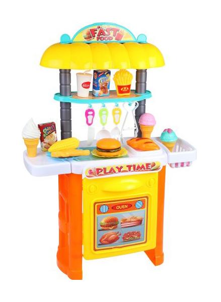 Купить Детская кухня Наша игрушка Hmburg Party 36778-111 35 предметов, Игровые наборы