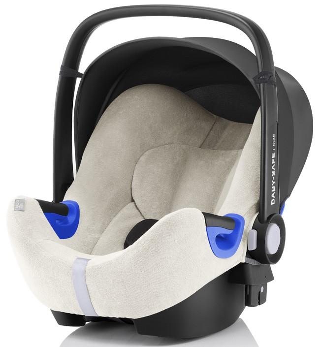 Летний чехол для автокресла Britax Roemer Baby-Safe i-Size белый