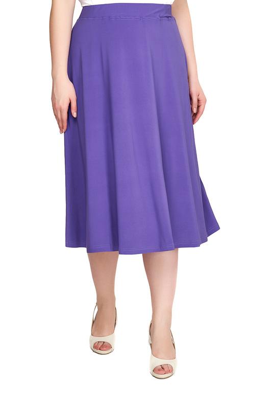 Юбка женская OLSI 1814013_5 фиолетовая 50 RU