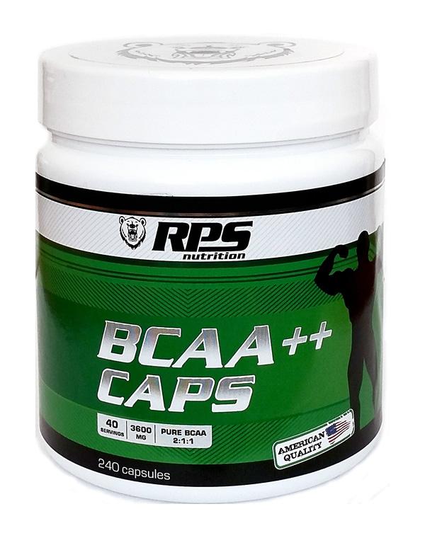 RPS Nutrition BCAA Caps, 240 капсул фото