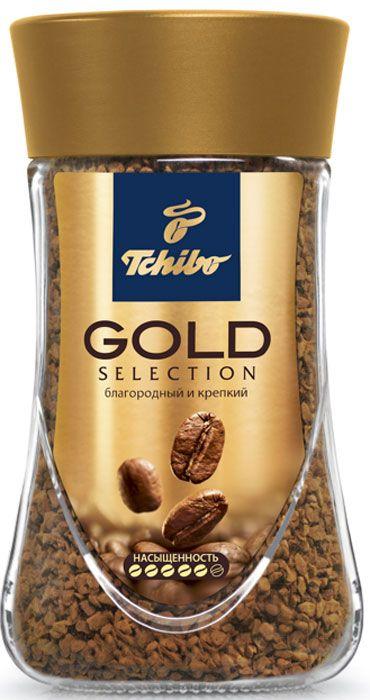 Кофе Tchibo Gold растворимый 47.5 г