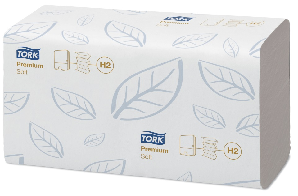 Полотенца Tork Premium сложение Interfold мягкие