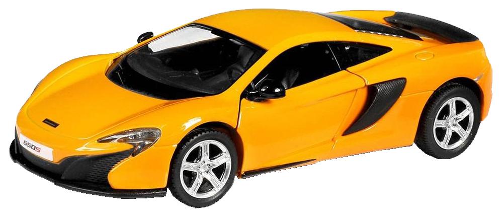 Купить Машина металлическая RMZ City 1:32 McLaren 650S, инерционная желтый 554992-YL, Коллекционные модели