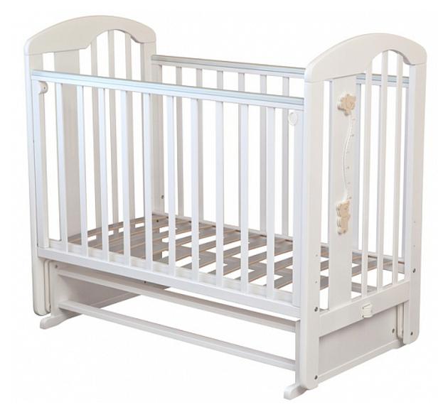 Кровать детская Красная Звезда Агата С 718 накладка-ростомер № 11 Белый