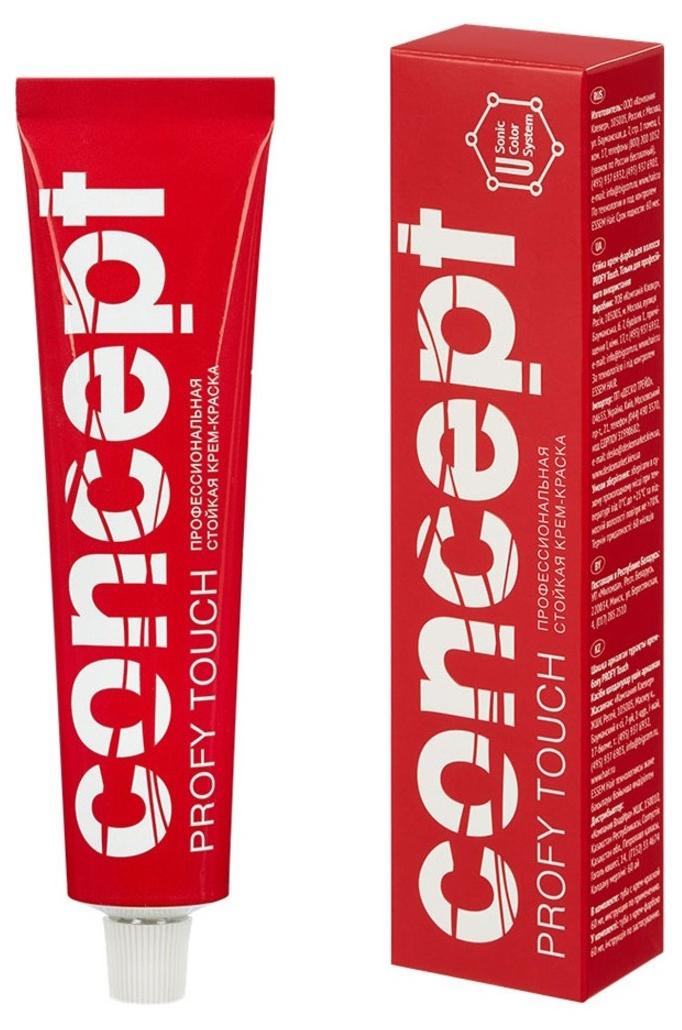 Краска для волос Concept Profy Touch 7.1 Пепельный светло-русый 60 мл