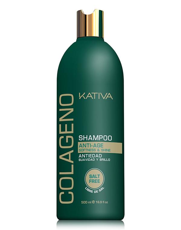 Шампунь Kativa Colageno Shampoo 500 мл фото
