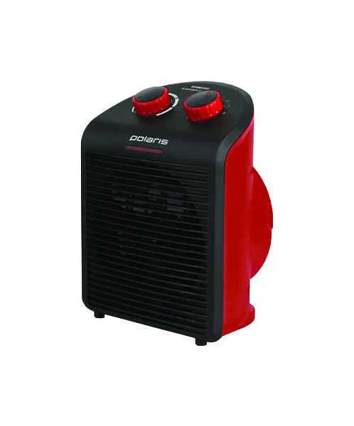 Тепловентилятор Polaris PFH 6020 красный, черный