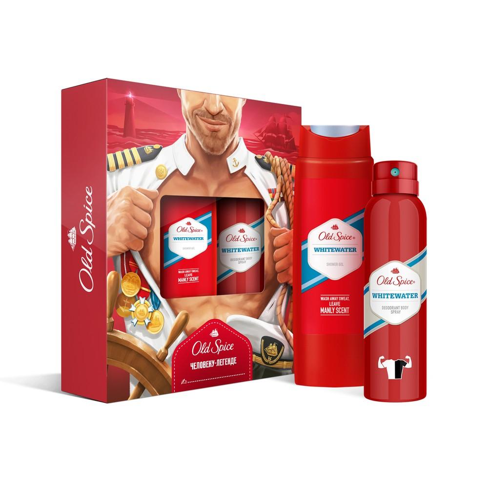 Подарочный набор OLD SPICE Дезодорант WhiteWater 150мл + Гель для душа WhiteWater 250мл