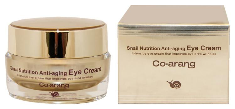 Крем для глаз Co Arang Snail Nutrition Anti-aging eye cream 30 г