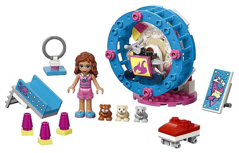 Купить Конструктор lego friends 41383 игровая площадка для хомячка оливии, Конструктор LEGO Friends 41383 Игровая площадка для хомячка Оливии,