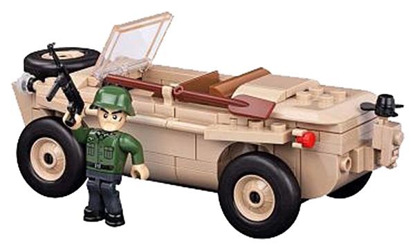 Купить Конструктор пластиковый COBI Амфибия VW Typ 166 Schwimmwagen, Конструкторы пластмассовые