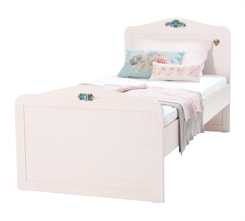 Купить Кровать Cilek Flower Flora ST 90х190 см,