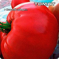 Семена Томат Бугай Розовый, 20 шт, Сибирский