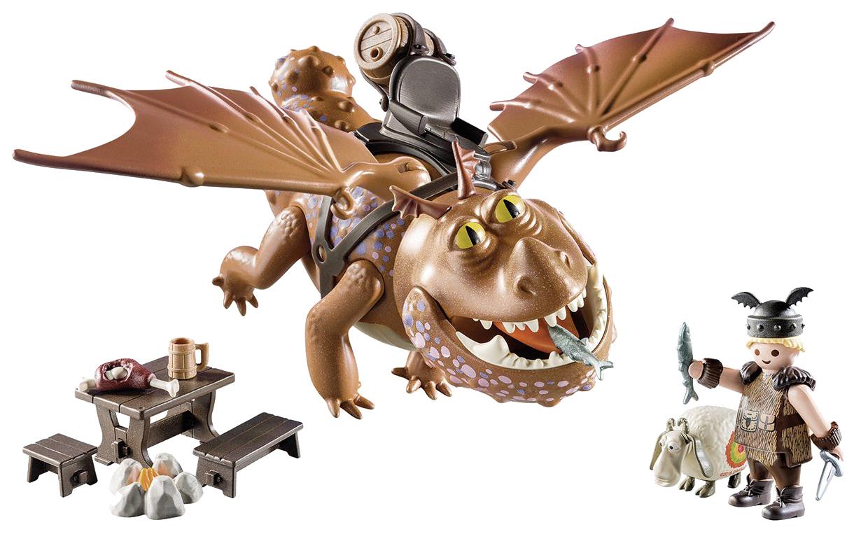 Игровой набор Playmobil Драконы: Рыбьеног и Сарделька