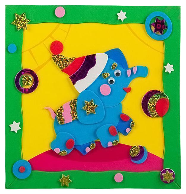 Купить Аппликация Дрофа-Медиа Веселый слоник, Детские аппликации