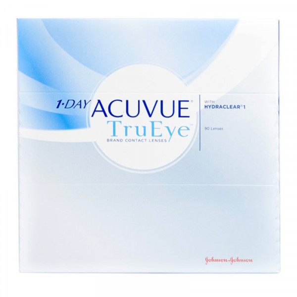 Контактные линзы 1-Day Acuvue TruEye 90 линз R 9,0 -10,50