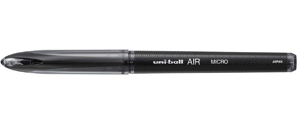 Ручка роллер Uni-Ball Air Micro 0,5мм (черный, 1 штука)