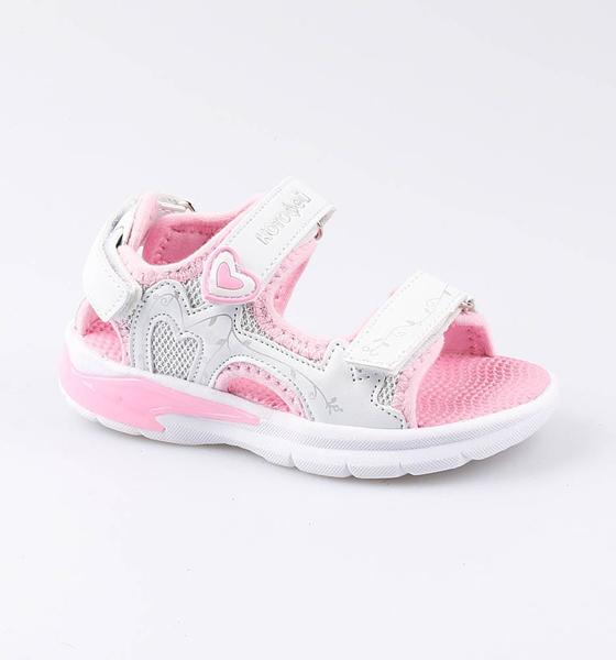 Пляжная обувь Котофей для девочки р.24 124001-11 белый