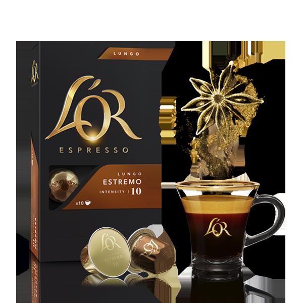 Кофе в алюминиевых капсулах L\'OR Espresso Lungo Estremo 10 шт