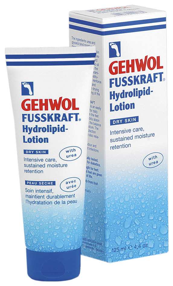 Лосьон для ног Gehwol Fusskraft Hydrolipid-Lotion 125 мл  фото