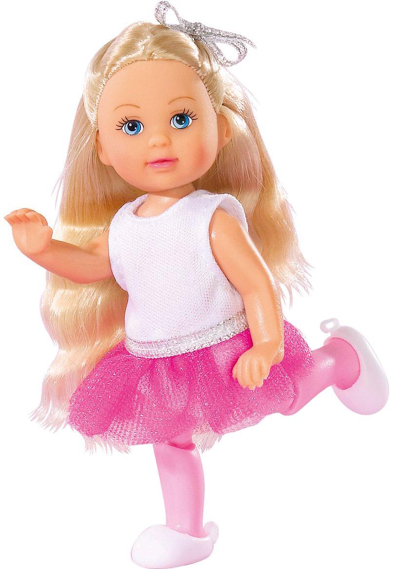 Кукла Simba Еви-балерина розовый/белый