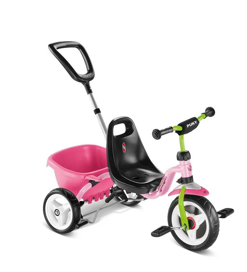 Купить Трехколесный велосипед Puky CAT 1S розовый, Велосипед трехколесный Puky CAT 1S розовый, Детские велосипеды-коляски
