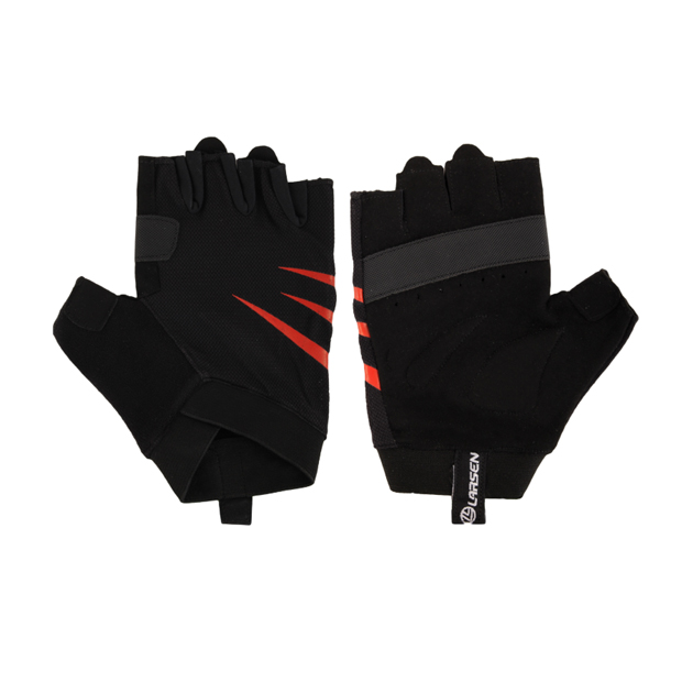Перчатки для фитнеса Larsen 07 18, черные,