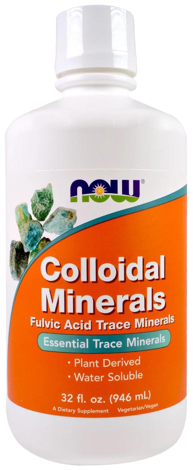 Минеральный комплекс NOW Colloidal Minerals 946