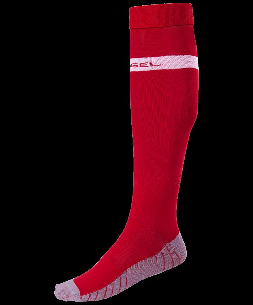 Гетры Jogel JA 003, красные/белые, 38