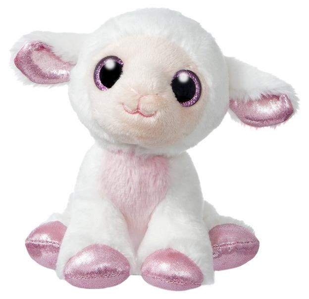 Купить Мягкая игрушка Aurora Овечка 18 см 171215D, Мягкие игрушки животные