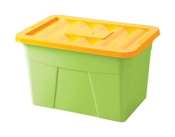 Ящик для хранения игрушек Бытпласт на колесах