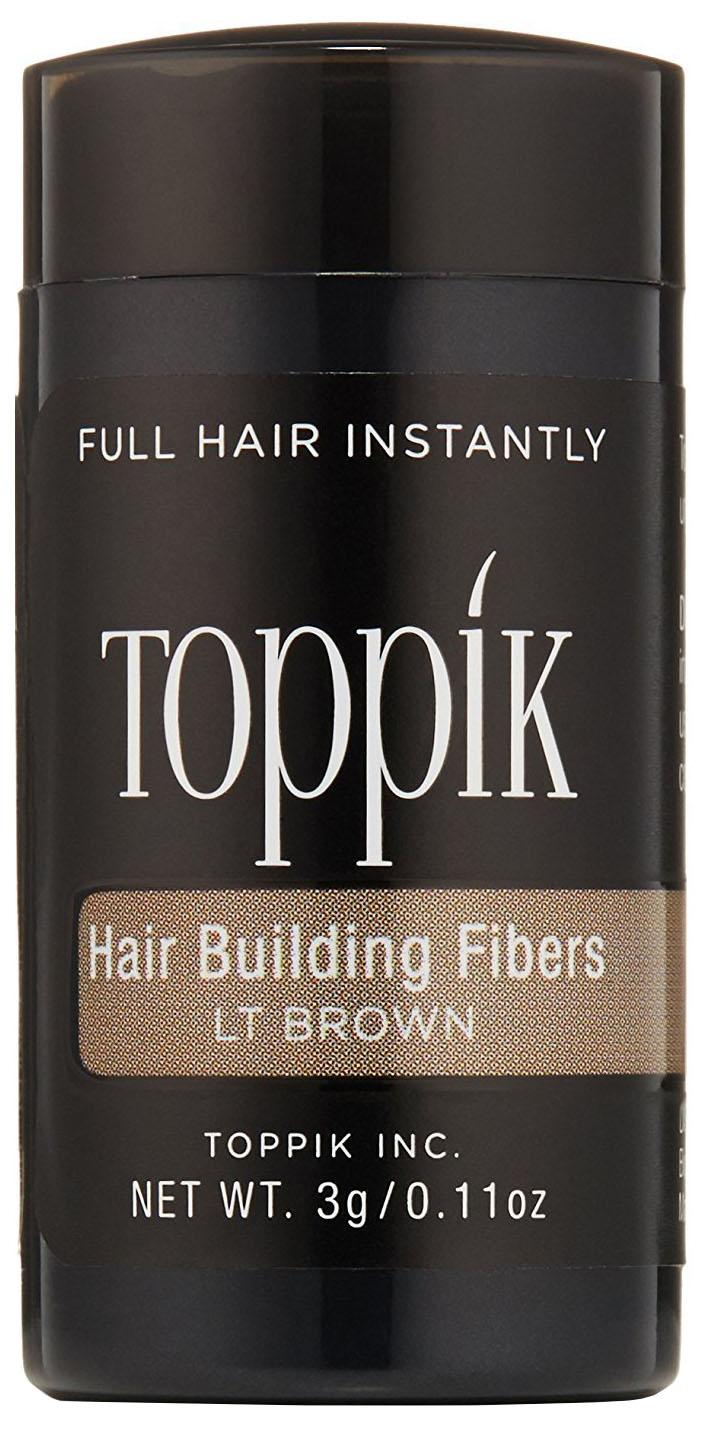 Пудра-загуститель для волос Toppik Hair Building Fibers Светло-каштановый 3 гр