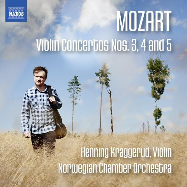 Henning Kraggerud, Norwegian Chamber Orchestra Mozart: Violin Concertos Nos. 3. 4 And 5 CD
