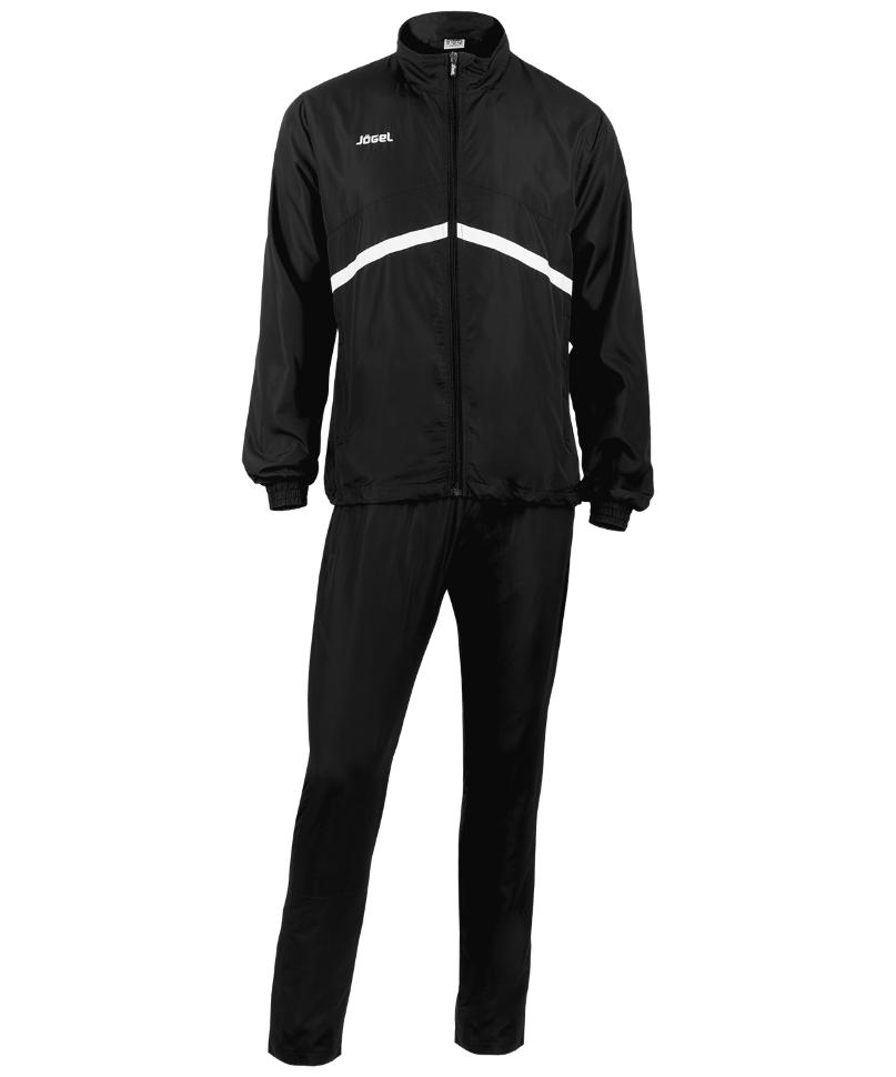 Спортивный костюм Jogel JLS-4401-061, черный/белый, XL INT