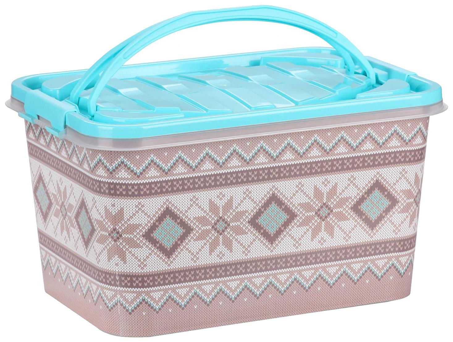Ящик для хранения игрушек Альтернатива Лапландия М6565