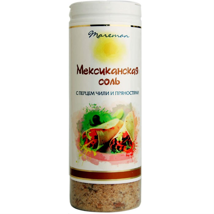 Соль мексиканская Mareman соль помол №0 140 г фото
