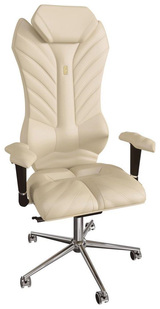 Кресло руководителя Kulik System Monarch 203, коричневый фото