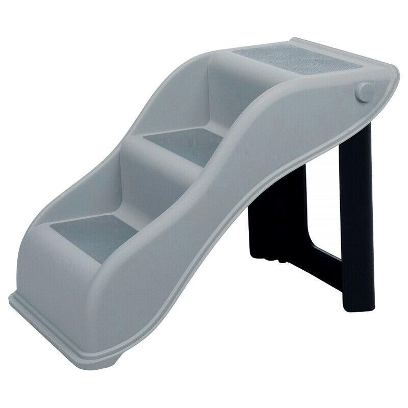 Лестница пандус пластиковая для собак и кошек