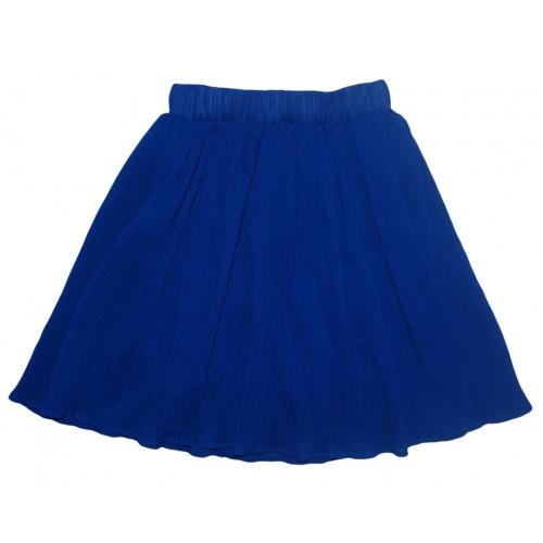 Юбка Гофре Bon&bon 595 Синяя Р.116