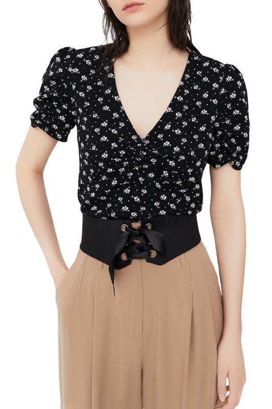 Блуза женская MANGO черная S